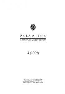 Palamedes. A journal of Ancient History 4/2009