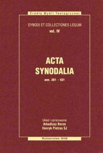 Acta synodalia - ann. 381-431