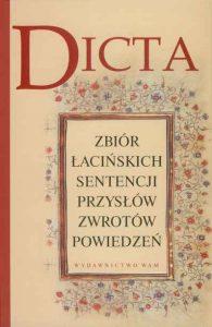 Czesław Michalunio, Dicta. Zbiór łacińskich sentencji, przysłów, zwrotów, powiedzeń