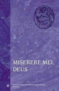 Miserere mei, deus. Psalm 50 (51) w interpretacji św. Tomasza z Akwinu