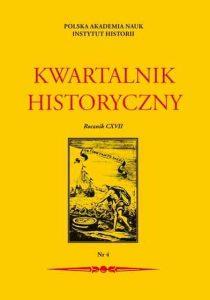 Kwartalnik Historyczny 4/2010