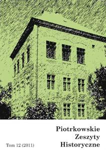 Piotrkowskie Zeszyty Historyczne 12 (2011)