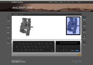 Ancient Lives Project