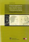Jacek Surzyn, Transcendentalizm Jana Dunsa Szkota i Immanuela Kanta. Próba zestawienia
