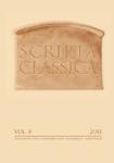 Scripta Classica VIII