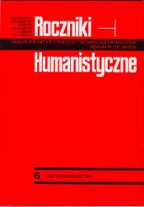 Roczniki Humanistyczne 58 (2010), 59 (2011)