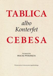 Maciej Wirzbięta, Tablica albo Konterfet Cebesa