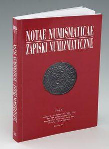 Notae Numismaticae (Zapiski numizmatyczne) 6