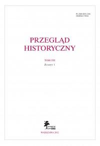 Przegląd Historyczny 1/2012