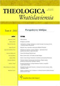Theologica Wratislaviensia 6/2011