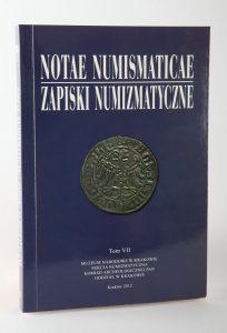 Notae Numismaticae 7