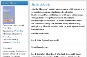 Studia Elblaskie