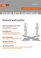 Forum Artis Rhetoricae 3/2013