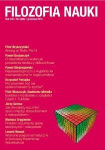 Filozofia Nauki 4/2013