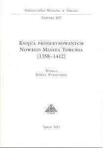 Księga proskrybowanych Nowego Miasta Torunia (1358-1412)