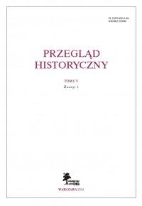 Przeglad Historyczny 1/2014