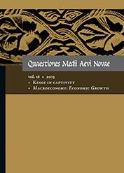 Quaestiones Medii Aevi Novae, vol. 18