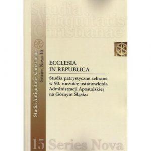Ecclesia in Republica. Studia patrystyczne