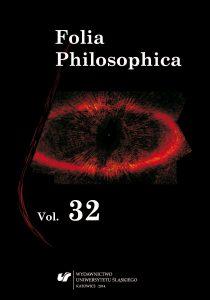Folia Philosophica 32