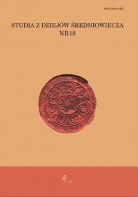 Studia z dziejów średniowiecza 18