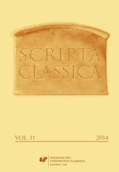 Scripta Classica XI