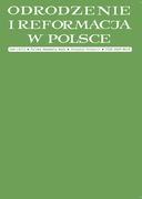 Odrodzenie i Reformacja w Polsce 58/2014