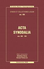 Acta Synodalia (od 506 do 533)