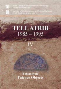 Fabian Welc, Faience objects (Tell Atrib 1985-1995 IV)