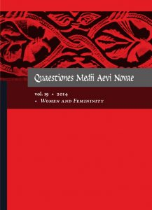 Quaestiones Medii Aevi Novae, vol. 19: Women and Femininity