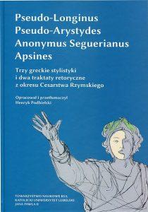 Trzy greckie stylistyki i dwa traktaty retoryczne z okresu Cesarstwa Rzymskiego