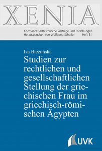 Iza Bieżuńska, Studien zur rechtlichen und gesellschaftlichen Stellung der griechischen Frau