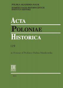 Acta Poloniae Historica 119