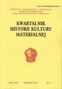 Kwartalnik Historii Kultury Materialnej
