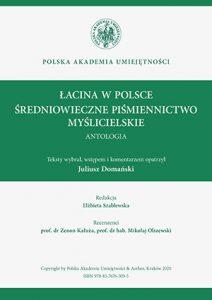 Łacina w Polsce. Średniowieczne piśmiennictwo myślicielskie