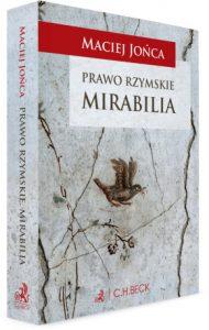 Maciej Jońca, Prawo rzymskie. Mirabilia