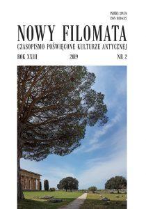 Nowy Filomata 23, 2019, 2