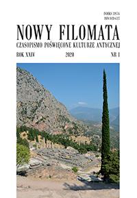 Nowy Filomata 24, 2020, nr 1