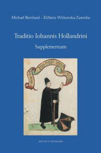Traditio Iohannis Hollandrini. Supplementum
